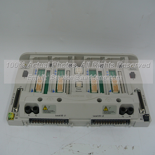 Westinghouse Emerson 5X00225G01 Controller Base Assembly
