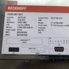 BECKHOFF CP6203-0021-0010 Touch Panel
