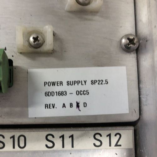 Siemens 66DD1683-0CC5 Power Supply